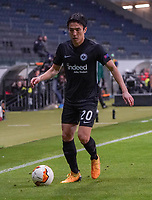 Makoto Hasebe (Eintracht Frankfurt) - 12.03.2020: Eintracht Frankfurt vs. FC Basel, UEFA Europa League, Achtelfinale, Commerzbank Arena<br /> DISCLAIMER: DFL regulations prohibit any use of photographs as image sequences and/or quasi-video.