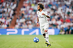 Marcelo Vieira Da Silva of Real Madrid  in action during the UEFA Champions League 2018-19 match between Real Madrid and Roma at Estadio Santiago Bernabeu on September 19 2018 in Madrid, Spain. Photo by Diego Souto / Power Sport Images