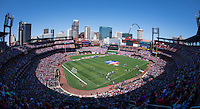 St. Louis, MO - April 4, 2015: The USWNT defeated New Zealand 4-0 during their friendly at Busch Stadium.