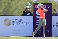 Grant Forrest (SCO) in action during the second round of the Commercial Bank Qatar Masters, Doha Golf Club, Doha, Qatar. 08/03/2019<br /> Picture: Golffile | Phil Inglis<br /> <br /> <br /> All photo usage must carry mandatory copyright credit (&copy; Golffile | Phil Inglis)