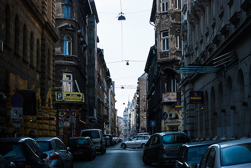 Exploring  a little off the beaten track in Budapest