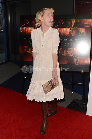 BEVERLY HILLS, CA - MAY 1: Anne Heche at The Dinner Los Angeles Premiere at the WGA Theater in Beverly Hills, California on May 1, 2017. Credit: David Edwards/MediaPunch