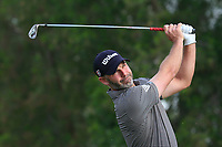 Paul Waring (ENG) on the 4th tee during Round 1 of the Omega Dubai Desert Classic, Emirates Golf Club, Dubai,  United Arab Emirates. 24/01/2019<br /> Picture: Golffile | Thos Caffrey<br /> <br /> <br /> All photo usage must carry mandatory copyright credit (&copy; Golffile | Thos Caffrey)