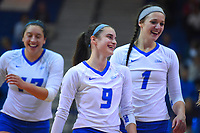 CCSU Volleyball vs. SFU 10/13/2017