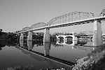 Downtown Chattanooga Black and White