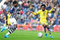 Nathan Dyer of Swansea City in action during the Sky Bet Championship match between West Bromwich Albion and Swansea City at The Hawthorns in Birmingham, England, UK. Sunday 08 December 2019
