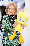 "HOLLYWOOD, CA - NOVEMBER 13: June Foray attends the ""Happy Feet Two"" Los Angeles premiere held at the Grauman's Chinese Theatre on November 13, 2011 in Hollywood, California."