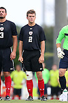 15 August 2014: Gardner-Webb's Jake Kennedy. The University of North Carolina Tar Heels hosted the Gardner-Webb University Bulldogs at Fetzer Field in Chapel Hill, NC in a 2014 NCAA Division I Men's Soccer preseason match. North Carolina won the exhibition 7-0.