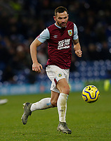 30th November 2019; Turf Moor, Burnley, Lanchashire, England; English Premier League Football, Burnley versus Crystal Palace; Phillip Bardsley of Burnley - Strictly Editorial Use Only. No use with unauthorized audio, video, data, fixture lists, club/league logos or 'live' services. Online in-match use limited to 120 images, no video emulation. No use in betting, games or single club/league/player publications
