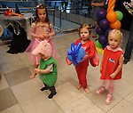 Kids on the dance floor at the Little Galleria Halloween Spooktacular presented by MD Anderson Children's Cancer Hospital at The Galleria Sunday Oct. 30,2016.(Dave Rossman photo)