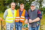 Hardworking volunteers at the Castleisland Races on Sunday<br /> L to r: Liam O'Connor, Richard King and John O'Connor.