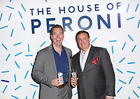 Eric Wolfe and Steve Gardner attend the House of Peroni LA Opening Night on October 18th, 2017. (Liliane Lathan/Guest of a Guest)