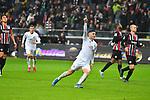 06.10.2019, Commerzbankarena, Frankfurt, GER, 1. FBL, Eintracht Frankfurt vs. SV Werder Bremen, <br /> <br /> DFL REGULATIONS PROHIBIT ANY USE OF PHOTOGRAPHS AS IMAGE SEQUENCES AND/OR QUASI-VIDEO.<br /> <br /> im Bild: Milot Rashica (SV Werder Bremen #7) jubelt ueber seint Tor zum 2:2<br /> <br /> Foto © nordphoto / Fabisch