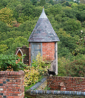 The fairytale tower was built by Marc Swann