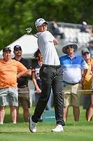 Daniel Berger (USA) watches his tee shot on 3 during round 2 of the 2019 Charles Schwab Challenge, Colonial Country Club, Ft. Worth, Texas,  USA. 5/24/2019.<br /> Picture: Golffile   Ken Murray<br /> <br /> All photo usage must carry mandatory copyright credit (© Golffile   Ken Murray)