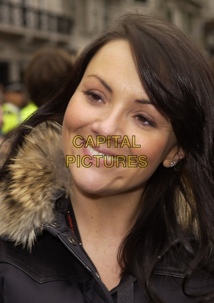 MARTINE McCUTCHEON .At the Photocall for the Launch of Gumball Rally 3000, Pall Mall, London, England, April 30th 2006..portrait headshot .Ref: CAN.www.capitalpictures.com.sales@capitalpictures.com.©Can Nguyen/Capital Pictures