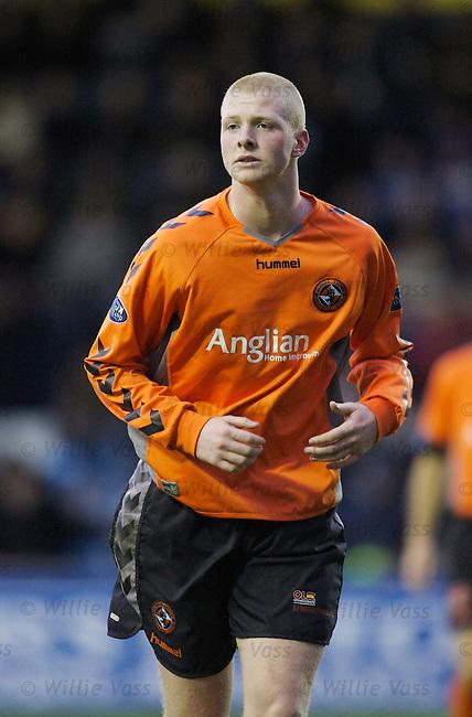 Garry Kenneth, Dundee utd.stock season 2006-2007.pic willie vass