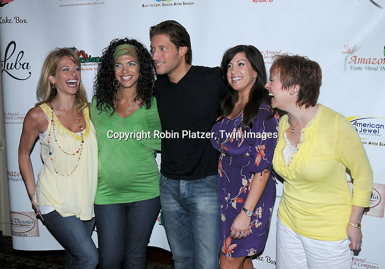 The Real Housewives of New Jersey, Dina Manzo, Teresa Giudice, Jacqueline Laurita and Caroline Manzo with Sean Kanan