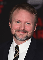 "LOS ANGELES- DECEMBER 9:  Rian Johnson at the World Premiere of Disney Pictures and Lucasfilm's ""Star Wars: The Last Jedi"" at the Shrine Auditorium on December 9, 2017 in Los Angeles, California. (Photo by Scott Kirkland/PictureGroup)"