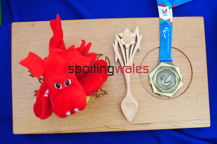 IPC European Athletics Championship 2014<br /> Swansea University<br /> <br /> Gold medal<br /> <br /> 21.08.14<br /> Chris Vaughan-SPORTINGWALES
