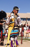 Pueblo Indians at Buffalo Dance, New Mexico near Albuquerque