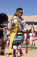 Pueblo Indians at Buffalo Dance, New Mexico near Albuquerque
