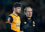 Nick Powell of Hull City leaves the pitch temporarily with a head injury - English FA Cup - Hull City vs Arsenal - The KC Stadium - Hull - England - 8th March 2016 - Picture Simon Bellis/Sportimage