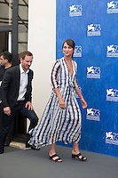 Michael Fassbender &amp; Alicia Vikander  at the photocall for The Light Between Oceans at the 2016 Venice Film Festival.<br /> September 1, 2016  Venice, Italy<br /> Picture: Kristina Afanasyeva / Featureflash