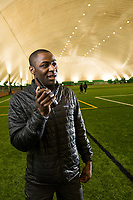 Former Seawolf Track and Field Star David Registe is now Director of Programs at The Dome in Anchorage.