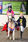 Stapleford Abbotts. United Kingdom. 03 November 2019. Class 1. Unaffiliated Showjumping championship show. Brook Farm training centre. Stapleford Abbotts. Essex. United Kingdom. Credit Melody Fisher/Sport in Pictures.~ 03/11/2019.  MANDATORY Credit Melody Fisher/SIP photo agency - NO UNAUTHORISED USE - 07837 394578
