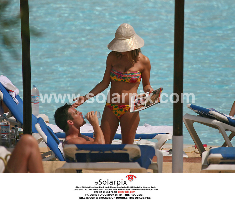 ALL ROUND PICTURES FROM SOLARPIX.COM..The England football squad relaxing poolside during their one week break in the Algarve, Portugal before the 2006 World Cup.  Job Ref: 2373/AB1..MUST CREDIT SOLARPIX.COM OR DOUBLE FEE WILL BE CHARGED..