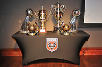 D.C. United Trophies ,during the 11th Annual Kickoff luncheon, at The Hamilton Live DC in Washington DC , Tuesday March 5, 2013.