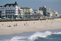 - New Jersey (USA), the waterfront of Asbury Park<br />