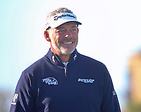 01  OCT 14 Northern Irishman Darren Clarke enjoying The Alfred Dunhill Links Championship at The Old Course in St. Andrews, Scotland. (photo credit : kenneth e. dennis/kendennisphoto.com)