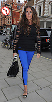 Tamara Ecclestone,the 28-year-old daughter of Formula One boss Bernie Ecclestone, pictured with a male companion out for lunch in Mayfair, London, UK. 09/11/2012.<br />