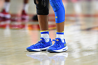 College Park, MD - March 25, 2019: UCLA Bruins custom Under Armour shoes during second round game of NCAAW Tournament between UCLA and Maryland at Xfinity Center in College Park, MD. UCLA advanced to the Sweet 16 defeating Maryland 85-80.(Photo by Phil Peters/Media Images International)