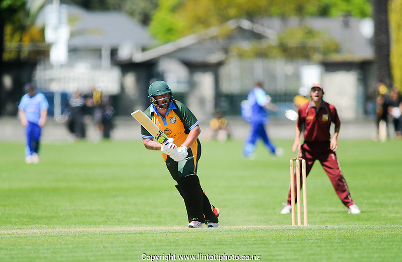Action from the Chapple Cup cricket match between Wairarapa and Marlborough at Nelson Park in Napier, New Zealand on Sunday, 16 October, 2016. Photo: Paul Taylor / lintottphoto.co.nz