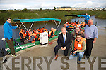International Travel Journalists were given at Tours around Wild Atlantic Way by Failte Ireland stopping off at the Tralee Wetlands on Thursday. Pictured  Mayor of Tralee  Jim Finucane, Richard Holmes, (Journalist South Africa) David Batzofin,  (Journalist South Africa), Sean Lyons, (Writer), with the International Travel Journalists
