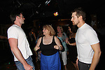 Tom Degnan and Josh Kelly dance with fan at the Celebrity Bartending Bash on May 14 at Martini's Upstairs, Marco Island, Florida - SWFL Soapfest Charity Weekend May 14 & !5, 2011 benefitting several children's charities including the Eimerman Center providing educational & outreach services for children for autism. see www.autismspeaks.org. (Photo by Sue Coflin/Max Photos)