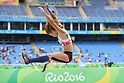 Maya Nakanishi (JPN), <br /> SEPTEMBER 9, 2016 - Athletics : <br /> Women's Lomg jump T44 Final <br /> at Olympic Stadium<br /> during the Rio 2016 Paralympic Games in Rio de Janeiro, Brazil.<br /> (Photo by AFLO SPORT)