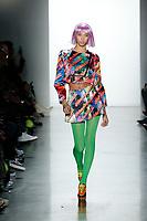 Jeremy Scott<br /> Yasmin Wijnaldum<br /> New York Fashion Week <br /> FW18<br /> <br /> New York Fashion Week,  New York, USA in February 2018.<br /> CAP/GOL<br /> &copy;GOL/Capital Pictures