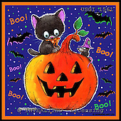 GIORDANO, CUTE ANIMALS, LUSTIGE TIERE, ANIMALITOS DIVERTIDOS, Halloween, paintings+++++,USGI1561,#AC#