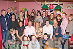 Noel Tarrant Ballydesmond and Gillian O'Callaghan Castleisland celebrate their recent engagement with their family and friends in the Half Barrell Castleisland on Friday night