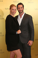 Jodie Kidd, husband David Blakeley at the Myla 15th anniversary party, London. 22/10/2014 Picture by: James Smith / Featureflash