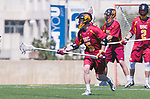 Los Angeles, CA 04/01/16 - Cole Roberson (USC #5) in action during the University of Southern California and Loyola Marymount University SLC conference game  USC defeated LMU.