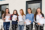 Junior Smiles<br /> ------------------<br /> Girls from Castleisland Community Collage who were delighted with their Junior Cert results pictured at the school last Wednesday morning L-R Marie Fleming, Saoirse Casey, Laura O'Connor, Cara Twomey and Grace McCarthy.