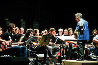 "The first St. Louis performance of Glenn Branca's symphony for 100 guitars, ""Symphony No. 13 (Hallucination City)"" at St. Louis' leading entertainment venue, The Pageant, on Thursday, November 13, 2008."