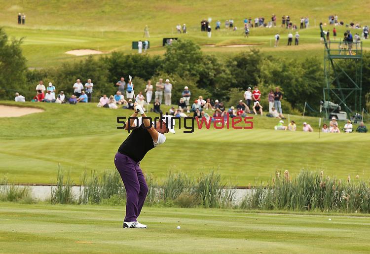 Peter Hanson.Saab Wales Open 2011.Twenty Ten Course - Celtic Manor Resort..04.06.11.©Steve Pope