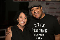 Erin Meluso and Chris Pierce attend RADD(R)+UBER Present Free Show at The Hi Hat To Support DUI Awareness & Road Safety on September 29, 2017 (Photo by Tony Ducret/Guest of a Guest)
