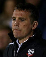 Bolton Wanderers manager Phil Parkinson <br /> <br /> Photographer Rob Newell/CameraSport<br /> <br /> The EFL Sky Bet League One - Gillingham v Bolton Wanderers - Tuesday 14th March 2017 - MEMS Priestfield Stadium - Gillingham<br /> <br /> World Copyright &copy; 2017 CameraSport. All rights reserved. 43 Linden Ave. Countesthorpe. Leicester. England. LE8 5PG - Tel: +44 (0) 116 277 4147 - admin@camerasport.com - www.camerasport.com